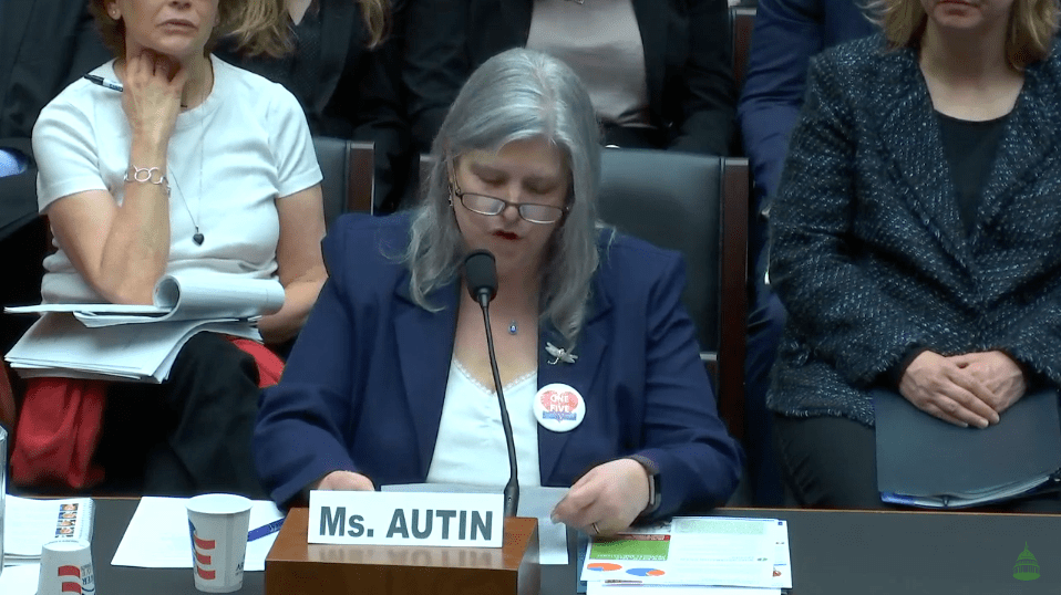 Autin testifies before Health Subcommittee of House Committee on Energy and Commerce