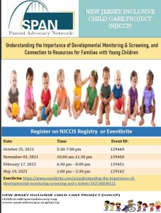 Understanding the Importance of Developmental Monitoring & Screening, and Connection to Resources for Families with Young Children