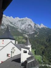 Otra vista frente a los Alpes.