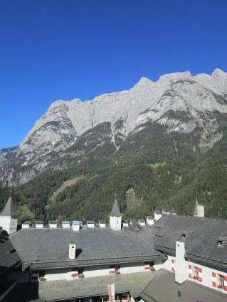 Otra vista de los Alpes.