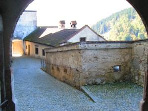 Calles dentro de la fortaleza