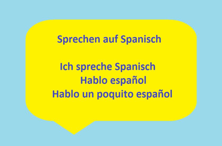 Sprechen auf Spanisch in Zürich