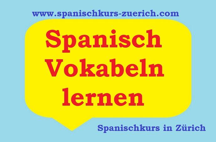 Spanisch Vokabeln