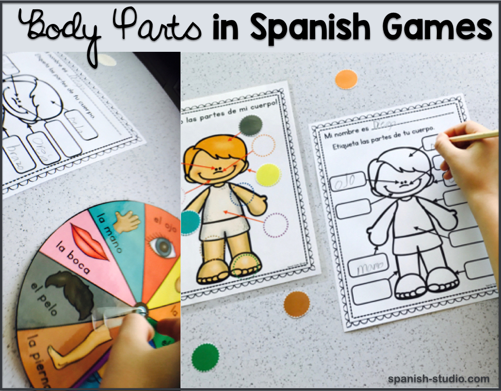Body Parts In Spanish How To Teach It