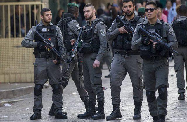 policia israeli