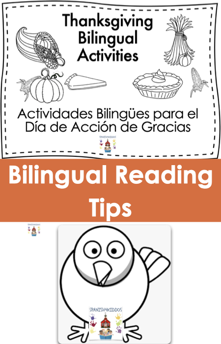 Thanksgiving bilingual activities