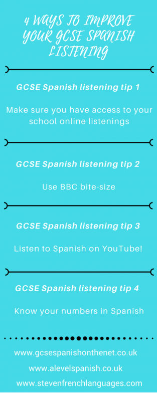 4 ways you can improve your GCSE Spanish listening