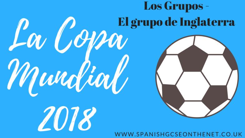 La Copa Mundial 2018 - el grupo de Inglaterra