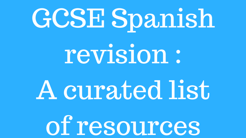 GCSE Spanish revision