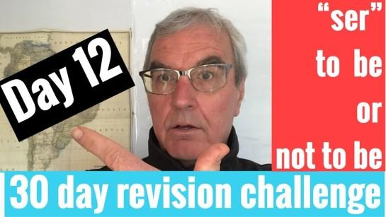 Spanish GCSE 30 day challenge   day 12