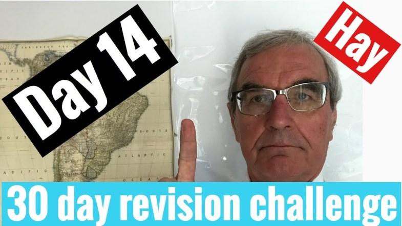 Spanish GCSE 30 day challenge   day 14
