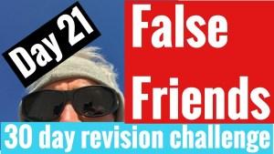 Spanish GCSE 30 day challenge | day 21