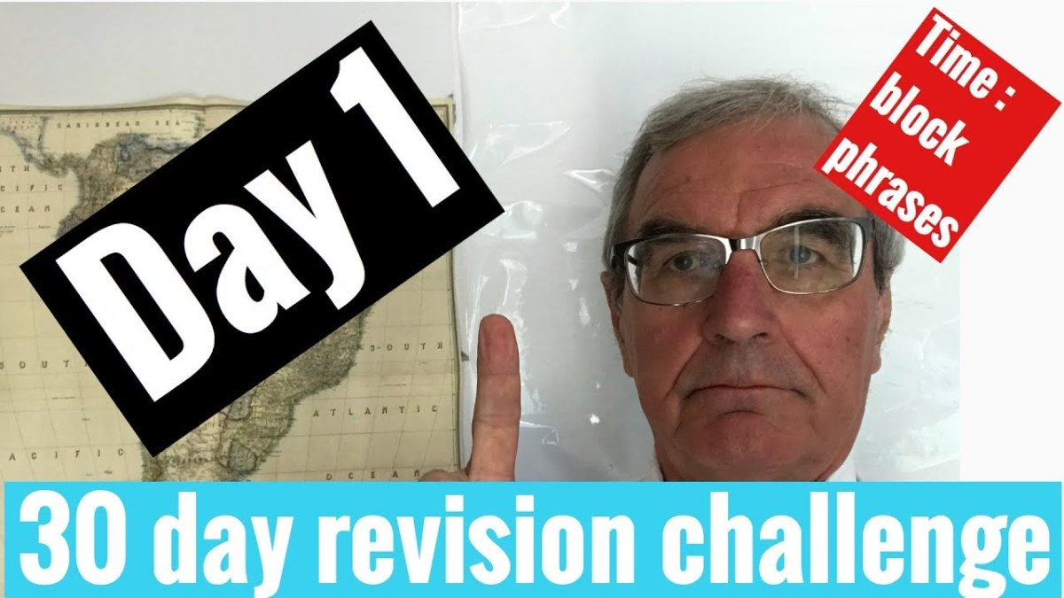 Spanish GCSE revision challenge | day 1