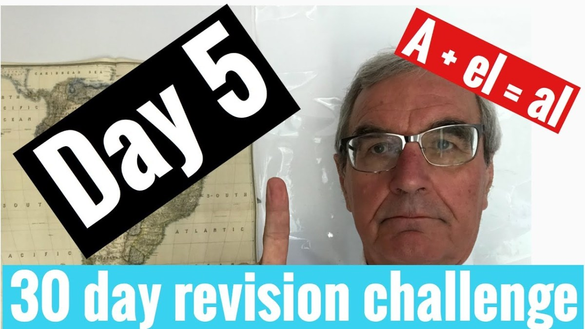 Spanish GCSE 30 day challenge | day 5