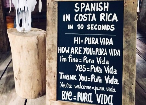 Costa Rican Spanish expressions
