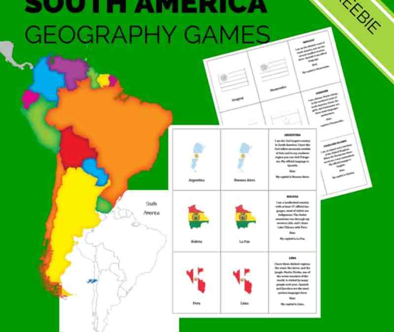 South America Geography Games