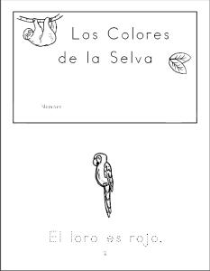Los Colores de la Selva Cover