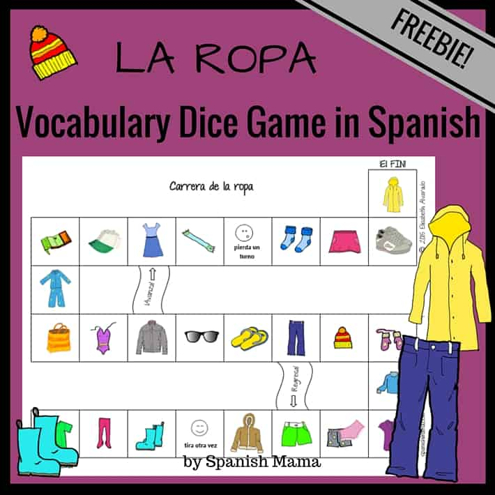 Clothing Vocabulary Games (1)