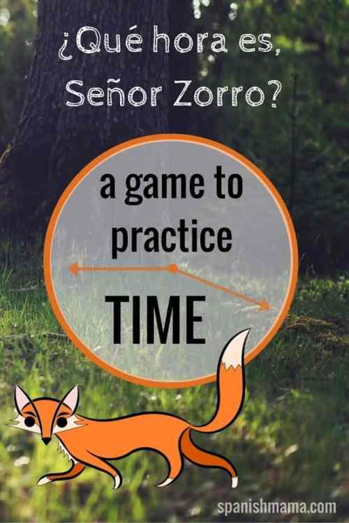 ¿Qué hora es, Señor Zorro-