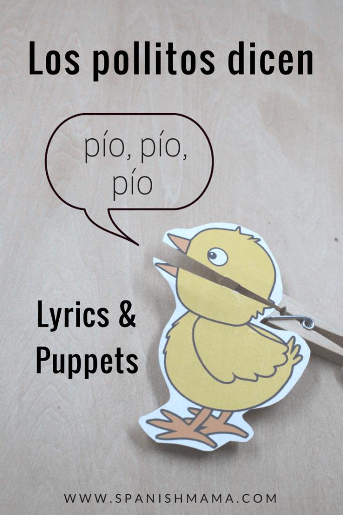 spanish preschool puppets