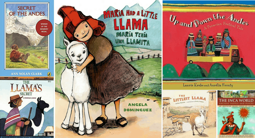 Books about Peru for Children