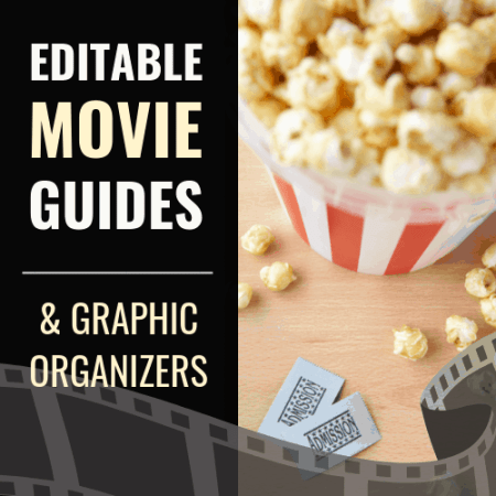 https://www.teacherspayteachers.com/Product/Movie-Guides-Graphic-Organizers-