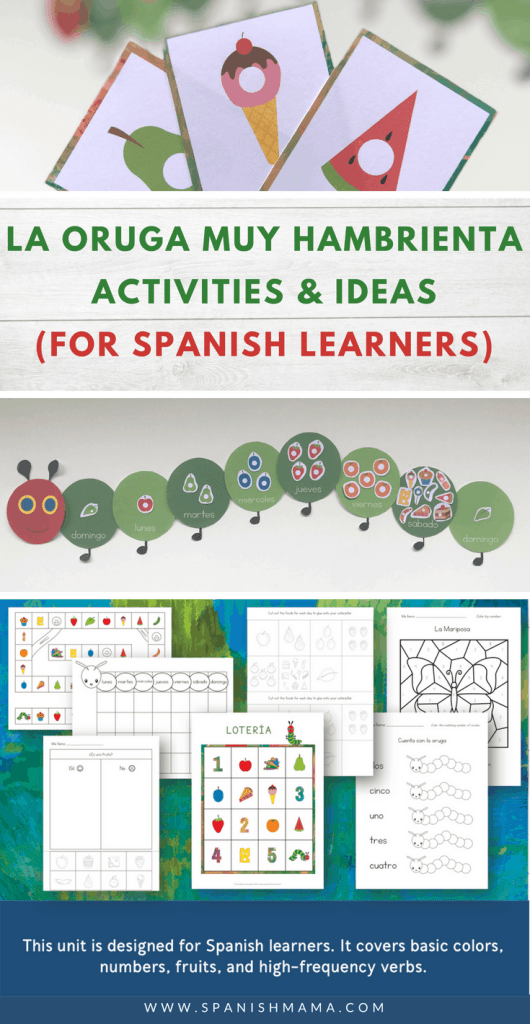 Activities and Resources for The Very Hungry Caterpillar in