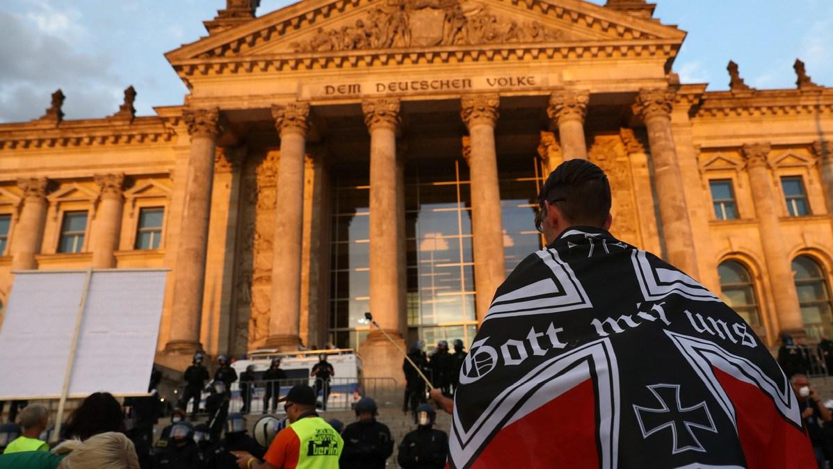 ¿Es sólo en Francia? Camino al Reichstag nazi