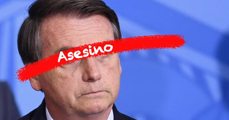 Bolsonaro Asesino