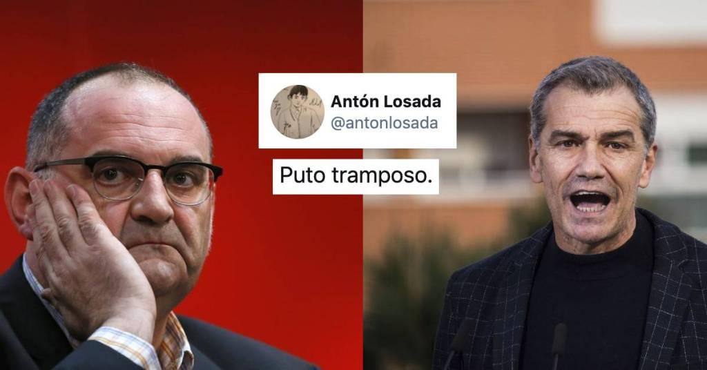 Puto tramposo Losada Cantó