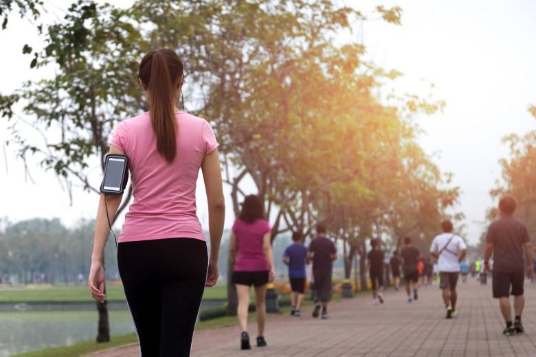 ¿Es realmente necesario dar 10 000 pasos al día?
