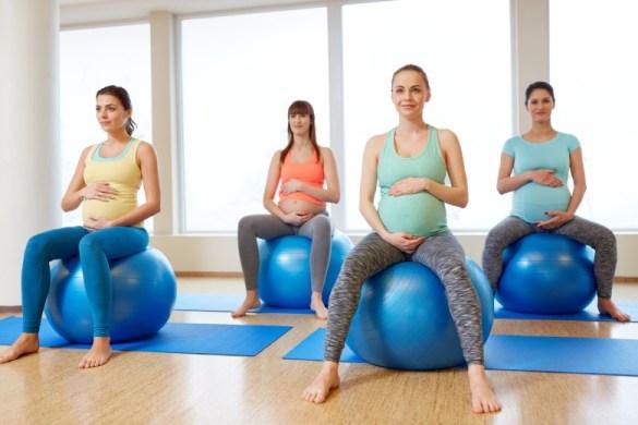 la importancia de un embarazo fisicamente activo