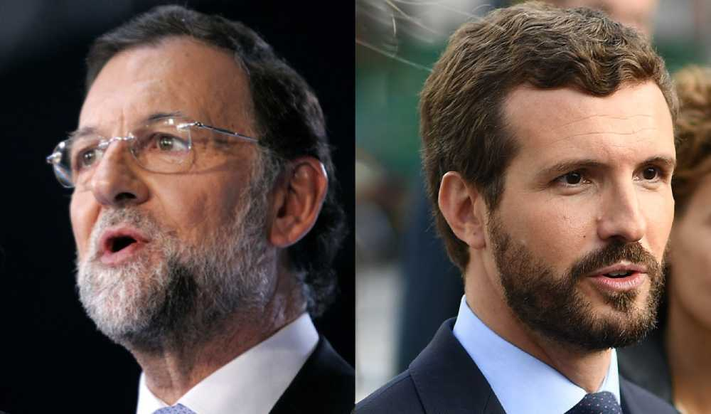 Pablo Casado y Mariano Rajoy. Licencias Creative Commons Attribution 2.0 Generic. Créditos: Partido Popular Castilla y León y European People's Party.