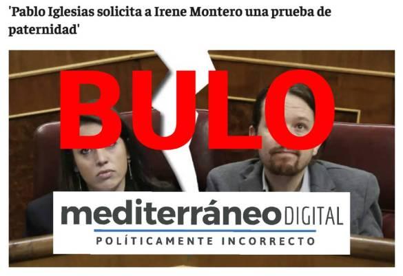 Pablo Iglesias Irene Montero Mediterráneo digital