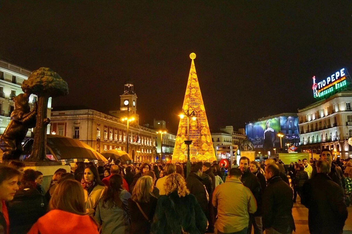 7 Lucky New Year s Eve Traditions in Spain   An Insider s Spain     Christmas in Madrid