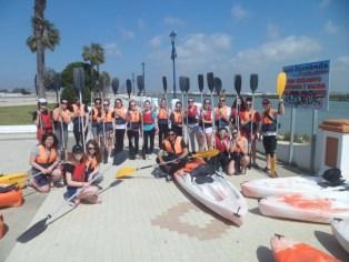 Haciendo Kayak