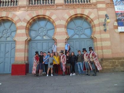 Norwich experienced Carnival in Cadiz!