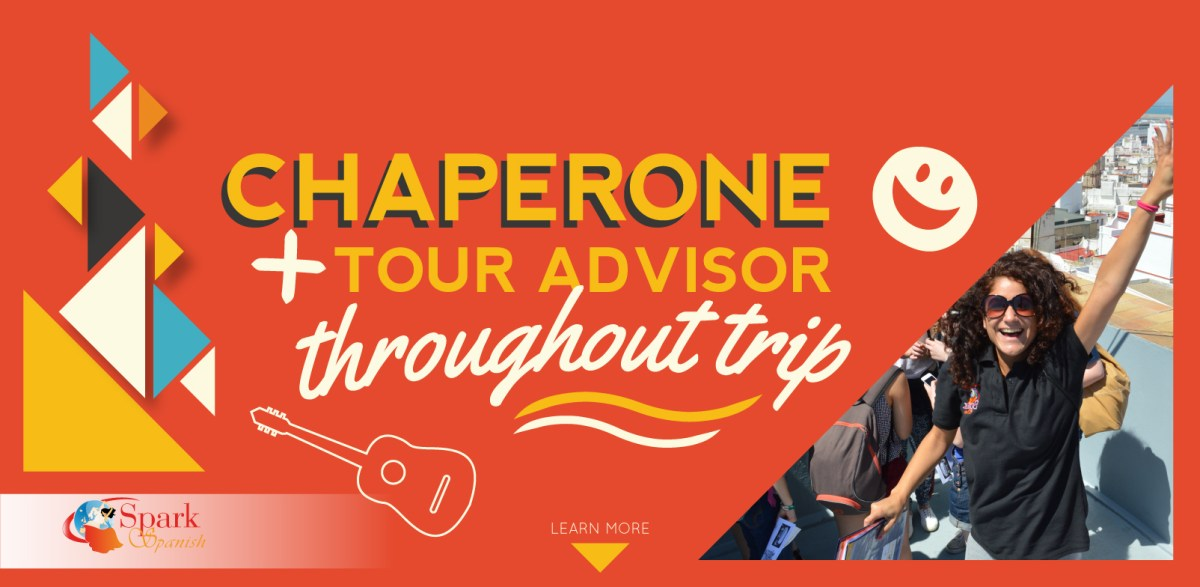 Chaperone + Tour advisor throughout trip