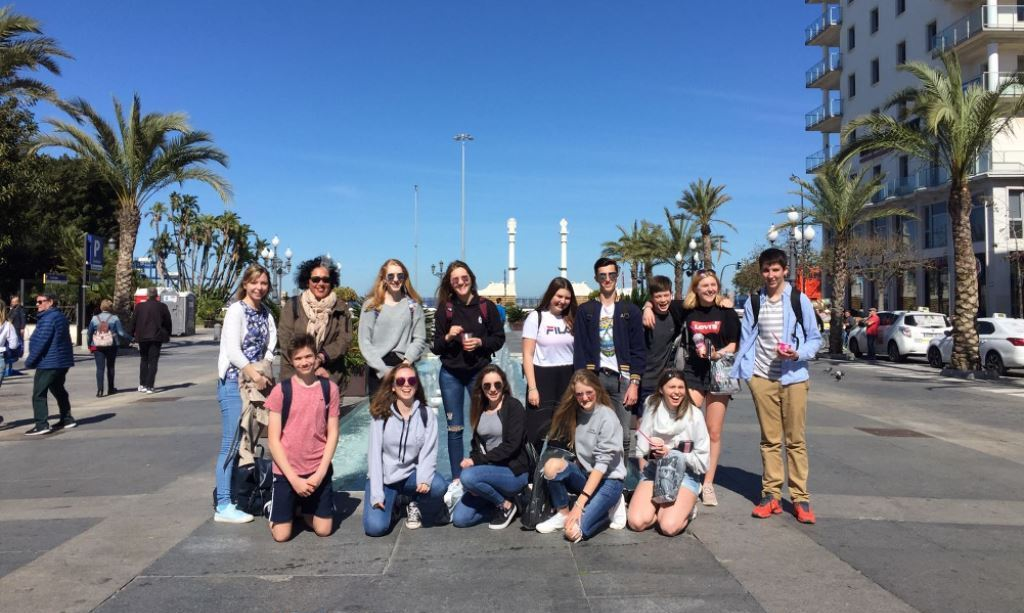 Taunton  School trip to Spain-2018