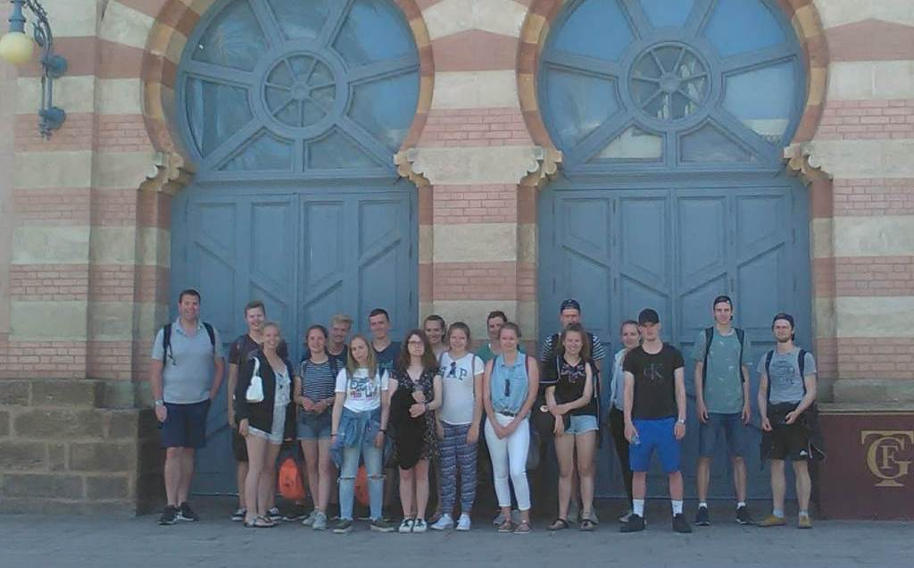 Schule am Burgfield School trip to Spain-2018