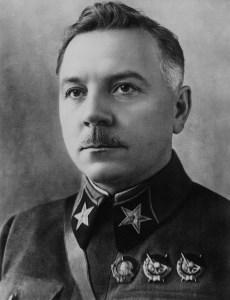 Kliment Yefremovich Voroshilov, Soviet Minister of Defence
