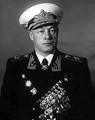 Nikolai Gerasimovich Kuznetsov, Admiral of the Fleet of the Soviet Union