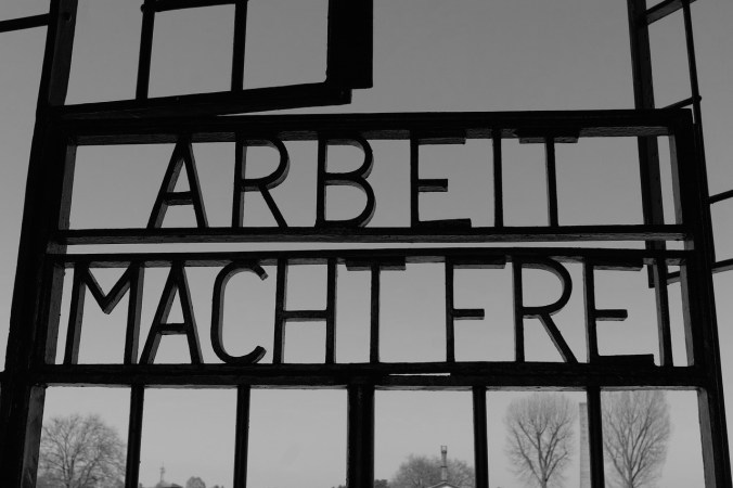Entrance of the Sachsenhausen Concentration Camp