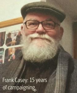 Skulptør Frank Casey