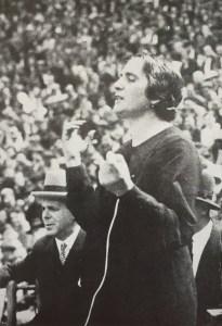 Dolores Ibarurri's ('La Pasionaria') farewell address to the International Brigades, Barcelona, 28. October 1938