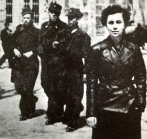 Adelina Kondratjeva (born Abramson) in Albacete, 1937