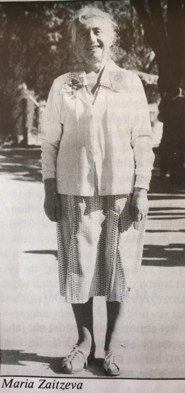 Maria Zaitzeva, 1986