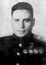 Generalløjtnant Alexander Stepanovich Osipenko, 1946