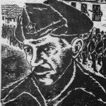 Portræt af Hans Beimler af Jürgen Peters