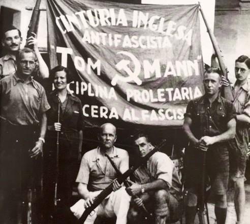 De Internationale Brigader: Den engelsk bataljon